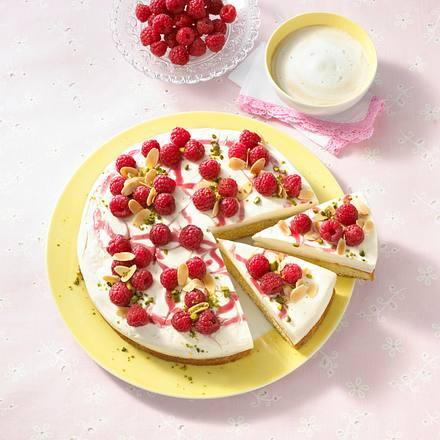 Feine Himbeer-Mandel-Torte Rezept