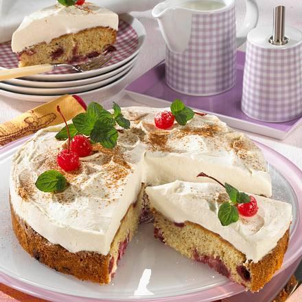 Feine Kirsch-Mascarpone-Torte Rezept