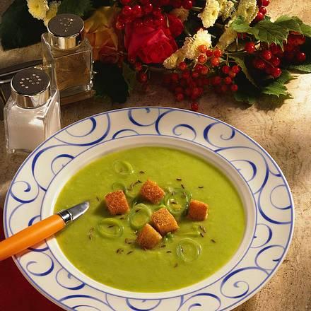 Feine Lauchcreme-Suppe Rezept