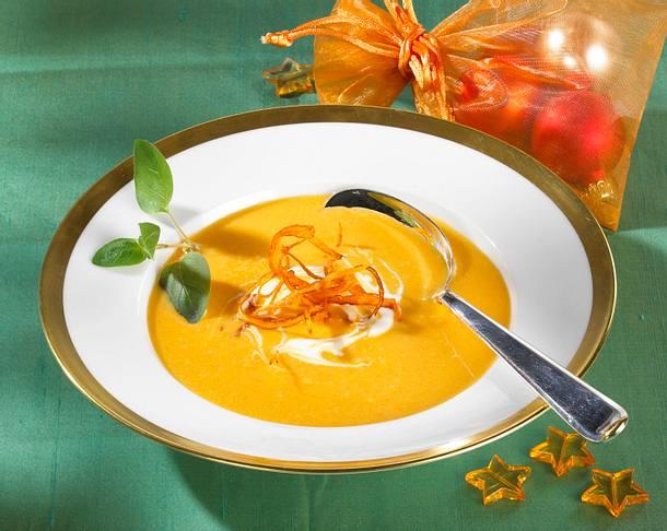 Feine Möhrencreme-Suppe Rezept