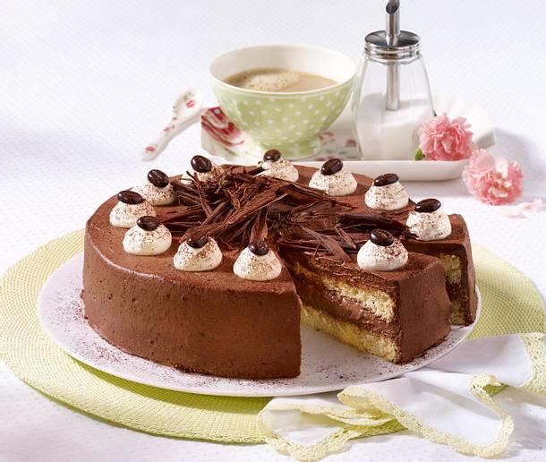 Feine Mokka-Schokoladen-Torte Rezept