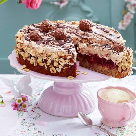 Feine Rocher-Torte
