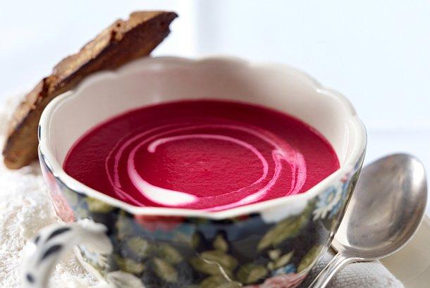 Feine Rote-Bete-Suppe Rezept