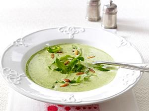 Feine Rucola-Cremesuppe Rezept