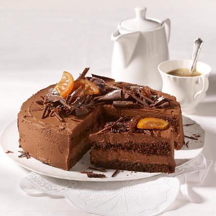 feine schokoladen torte rezept lecker. Black Bedroom Furniture Sets. Home Design Ideas