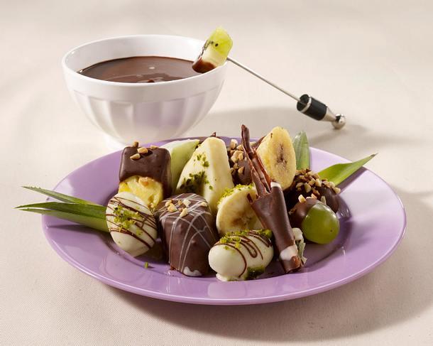 Feine Schokoladenfrüchte Rezept