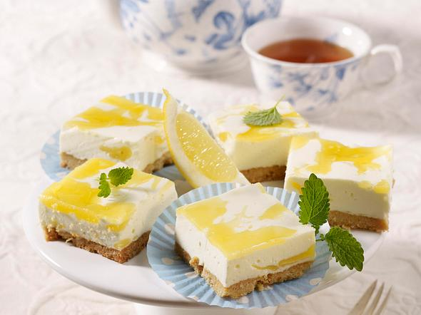 Feine Zitronen-Schnitten Rezept