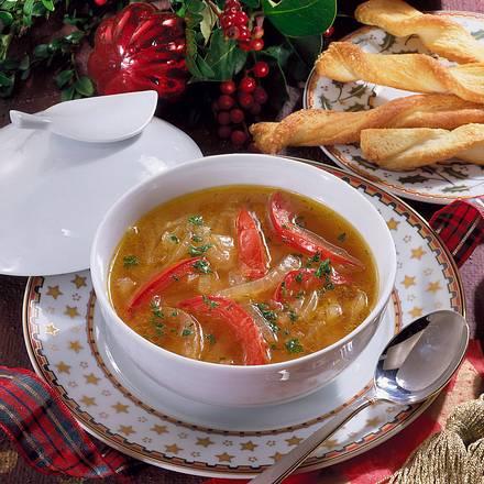 Feine Zwiebel-Suppe Rezept