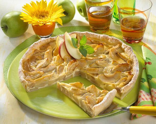 Feiner Apfel-Schmandkuchen (Diabetiker) Rezept