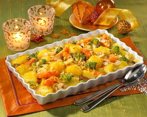 Feiner Kartoffel-Möhren-Gratin Rezept