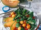 Feldsalat mit Melone & Paprika Rezept