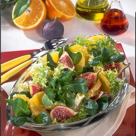 feldsalat mit orangen und feigen rezept chefkoch rezepte auf kochen backen und. Black Bedroom Furniture Sets. Home Design Ideas