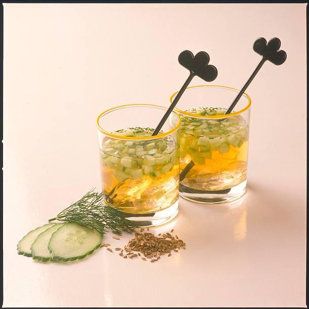 Fenchel-Gurken-Drink Rezept