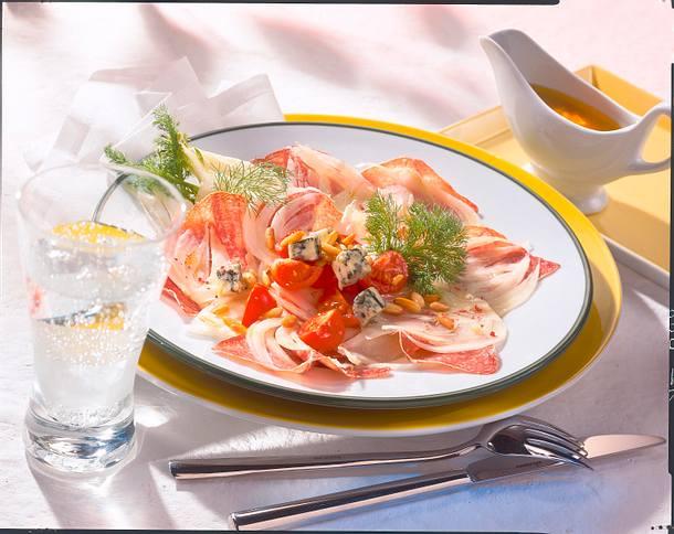 Fenchel-Salami-Teller Rezept