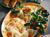 Fenchelsalat mit Lachs und Avocadocreme Rezept