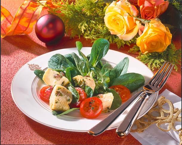 festlicher salat rezept chefkoch rezepte auf. Black Bedroom Furniture Sets. Home Design Ideas