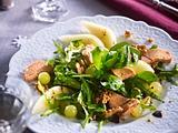 Festlicher Salat mit Gänseleber-Pâté Rezept