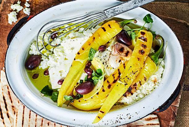 Feta mit Oliven Rezept