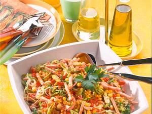 Feuriger Porree-Mais-Salat Rezept