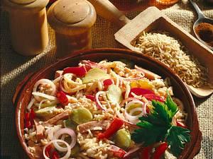 Feuriger Reissalat Rezept