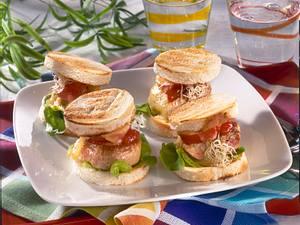 Filet-Burger mit Gouda Rezept