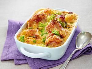 Filet Gratin mit Wirsing und Kartoffeln Rezept