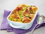 Filet Gratin mit Wirsing und Kartoffeln/variante mit Parmesan Rezept