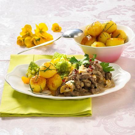 Filetspitzen mit Romanesco Rezept