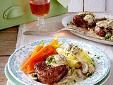 Filetsteaks mit Champignonrahm Rezept