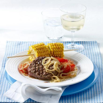 Filetsteaks mit Sommergemüse Rezept