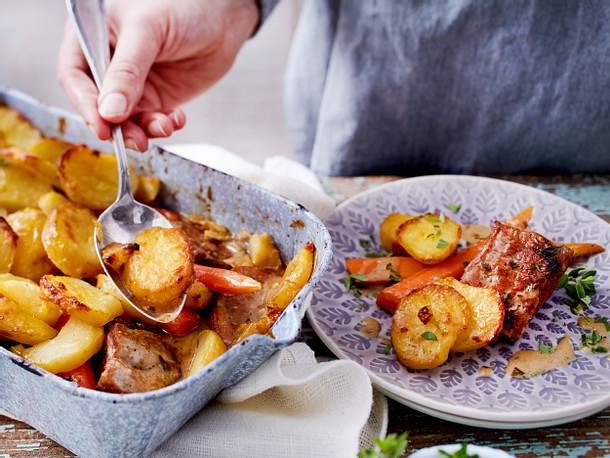 Filettöpfchen unter der Kartoffelhaube Rezept