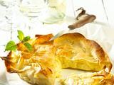 Filo-Käseküchlein (für 8 Stück) Rezept