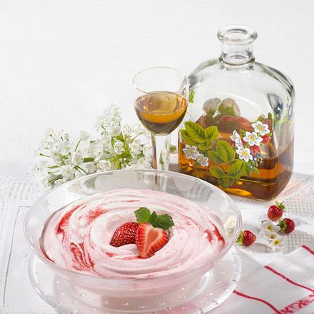 Finnischer Erdbeerschnee Rezept