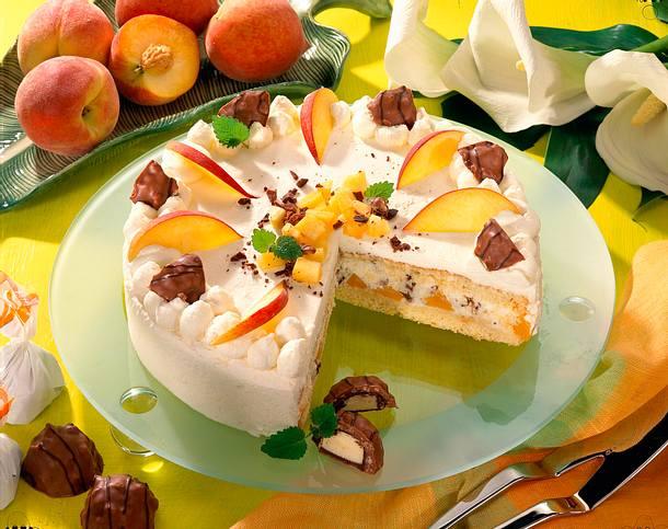 Fioretto-Pfirsich-Torte Rezept