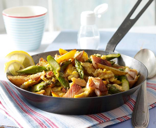 Fisch-Bauernfrühstück Rezept