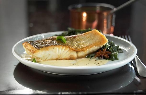 Fisch mit Cognacsoße Rezept