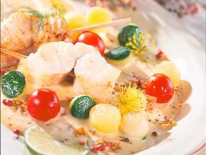 Fisch mit Senfsoße Rezept