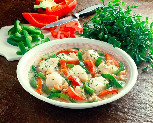Fisch-Paprika-Suppe Rezept