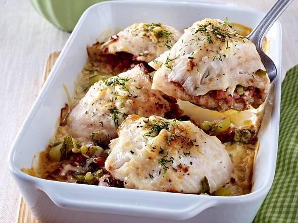 Fisch-Saltimbocca aus dem Ofen Rezept