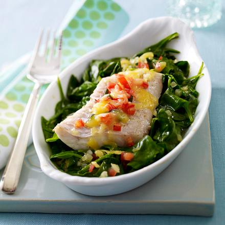 Fisch-Spinat-Gratin Rezept