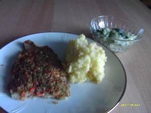 Fischfilet a la Bordelaise mit Gurkensalat Rezept