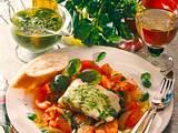 Fischfilet auf Tomaten Rezept