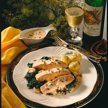 Fischfilet in Zitronensahne Rezept