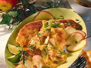 Fischfilet mit Apfel-Senfsoße Rezept