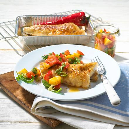 Fischfilet mit Chili-Curry-Paste Rezept