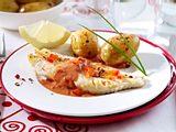 Fischfilet mit Chorizo-Paprikasoße Rezept