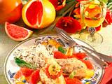Fischfilet mit Grapefruitsoße Rezept