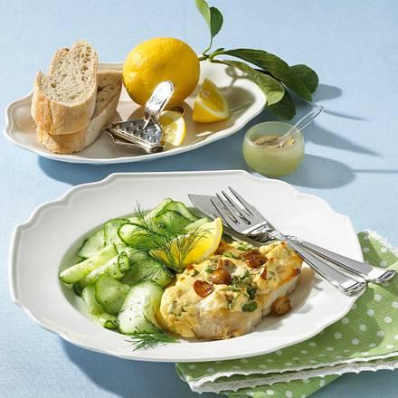 Fischfilet mit Käsekruste Rezept