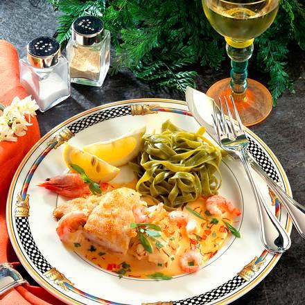 Fischfilet mit Krabbensoße Rezept