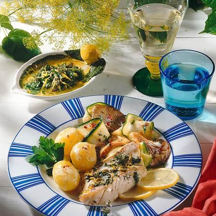 Fischfilet mit Kräutermarinade Rezept